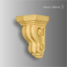 Polyurethane small faux wood fireplace corbels, its artificial wood corbel vivid tells the actual impression of wood in both texture and touch sphere.