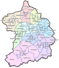 Essen Stadtteile und Stadtbezirke - Liste der Stadtbezirke und Stadtteile von Essen – Wikipedia