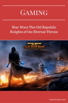 The 6th digital expansion pack for Star Wars:The Old Republic has finally arrived. Its called Knights of the Eternal Throne. Check it out! via @theapptimes