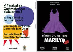'Número 2: si yo fuera Marilyn' competirá los días 22 y 23 de octubre en Cortoespaña Alaior (Menorca) por el premio del público del festival.  El filme de JC Falcón se proyecta como cierre de la segunda jornada. ¡Suerte! #Digital104FilmDistribution