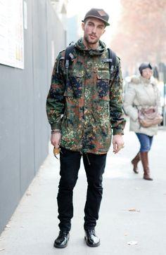 Black x Camouflage || tobias sorensen