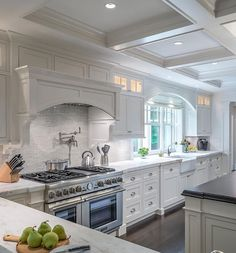 light kitchen teensy tile backsplash