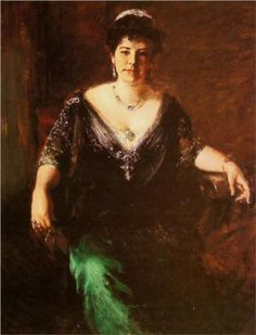 Portrait of Mrs. William Merritt Chase - William Merritt Chase