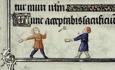 VOLÀNO  Miniatura tratta dal Libro d'Ore MS. Douce 62 (1400 circa), Bodleian Library, Oxford.  www.foliamagazine.it