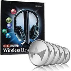 Wireless Headphones w/Microphone Emitter & FM Radio & 50 TCredits Auction Auction Bid, Auction Items, Penny Auctions, Super Deal, Have You Seen, Chromebook, Cool Things To Buy, Stuff To Buy, Wireless Headphones
