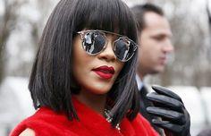EYEWEAR DIARY - Fashion Blog Brasil: Celebrity Sunglasses: Rihanna em Paris
