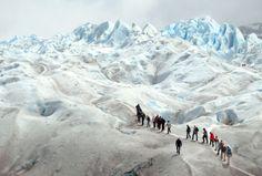 picapixels:    All sizes | Mini-Trekking . Perito Moreno - Argentina | Flickr - Photo Sharing!