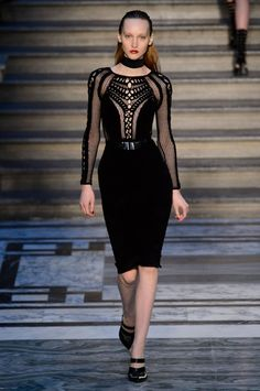 Pin for Later: Julien Macdonald Channels 50 Shades of Gorgeousness Julien Macdonald Autumn/Winter 2015