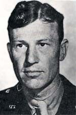 """Col Howard R. """"Jumpy"""" Johnson, 501st PIR CO, KIA 8 Oct 44. When the men of the 'Geronimo Regiment' parachuted into Normandy, they were widely scattered. Johnson gathered a group of his men and they annihilated a battalion of German paratroopers guarding the canal locks. The 501st Regiment, led by Johnson, had a successful mission, even though in a way that General Dwight Eisenhower's planners never imagined. Died during Operation Market Garden"""