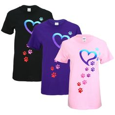 Rainbow+Paws+to+My+Heart+T-Shirt+at+The+Animal+Rescue+Site