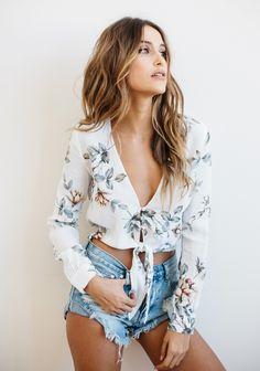 Flynn skye blouse