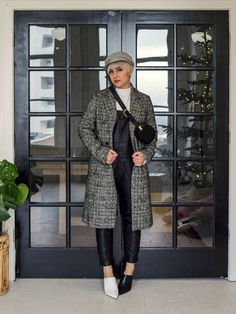 4 Must Have Coats: The Check Coat