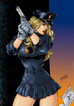 lady blackhawk by Ed Benes by on DeviantArt Heros Comics, Dc Comics Girls, Comic Art Girls, Dc Comics Characters, Dc Comics Art, Female Characters, Image Joker, Hee Man, Fantasy Female Warrior