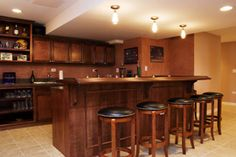 I like the for the Basement Bar on a smaller scale