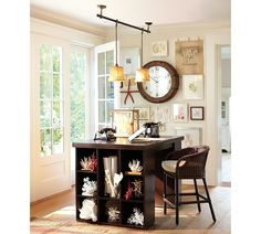 How awesome would it be to have a home office like this?