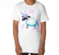 'Sheep In Unicorns Clothing' by jaggerstudios Funky Outfits, Cartoon T Shirts, Sheep, Mens Tops, Clothes, Accessories, Design, Fashion, Outfits