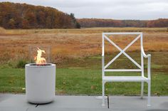Jar, modern bioethanol fireplace made by Planika. Perfect for outside use. Modern Outdoor Fireplace, Outdoor Fireplace Designs, Outdoor Fireplaces, Outdoor Areas, Indoor Outdoor, Outdoor Decor, Bio Ethanol, Portable Fireplace, Bioethanol Fireplace