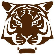 tigre fort boyard pochoir copie Theme Harry Potter, Silhouette Curio, Tiger Art, Scroll Saw Patterns, Birthday Fun, Activities For Kids, Images, Alice, Recherche Google