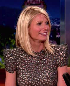 gwyneth paltrow hair bangs | Loving the Long Bob « Class and Creation