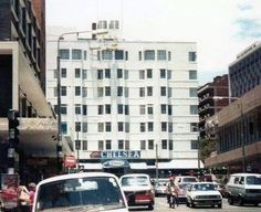 Chelsea Hotel Hillbrow viewed from Kotze Street Johannesburg Skyline, African Quotes, Chelsea Hotel, My Family History, World View, The Old Days, Back In The Day, Old Pictures, South Africa