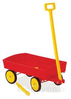 Køb Anhænger/Trækvogn fra Dantoy - L: 54 cm online - Dantoy