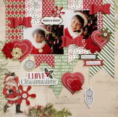 Carta Bella Paper - Christmas Time Collection http://www.scrapbook.com
