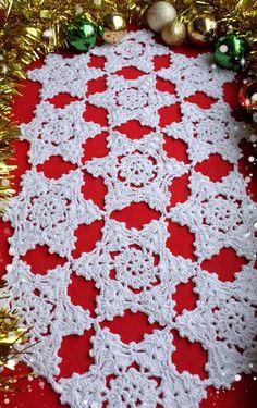 CROCHET PDF PATTERN  Table Runner Table Linens Crochet