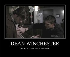 OMG I love your shirt where did you get it? Vintage... So cute Mean girls Supernatural