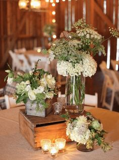 From dinner parties to wedding receptions, centerpieces can transform the look of your party. Check out these unique centerpiece ideas!