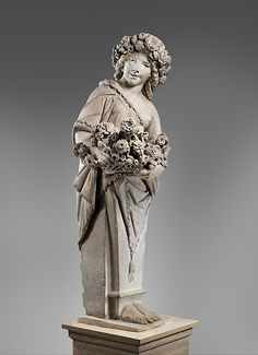 Pietro Bernini (Italian, 1562–1629). Spring in the guise of Flora (one of a pair), 1616–17. The Metropolitan Museum of Art, New York. Purchase, The Annenberg Foundation Gift, 1990 (1990.53.1) #spring
