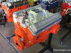 Chevy 327 350 HP Crate Engine Chevrolet Impala 1963, Chevy 350 Engine, Chevy Crate Engines, Chevy Motors, Crate Motors, Engines For Sale, Daylight Savings Time, Engine Rebuild, Barn Finds