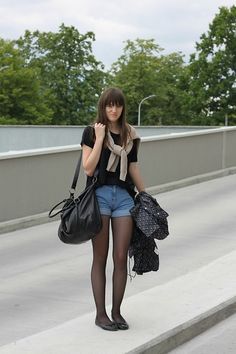 Casual/ shorts and hose