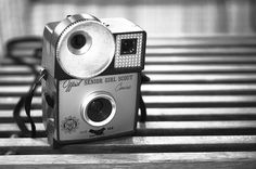 The Senior Girl Scout camera! #girlscout #camera #vintage #collector #photography #film