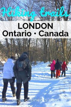 Ontario London, Walks In London, Forest City, London City, Hiking Trails, Where To Go, Family Travel, Places To See, Travel Inspiration