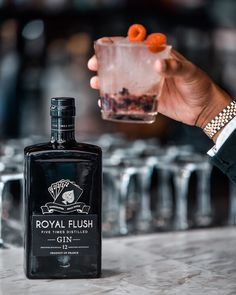 "Royal Flush Gin on Instagram: ""Served up in style. Treat yourself to a touch of luxury. #royalflushgin"" Gin, Treat Yourself, Perfume Bottles, Treats, Touch, Luxury, Instagram, Style, Sweet Like Candy"