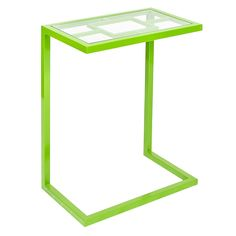 Worlds Away James Green Powder Coated Side Table