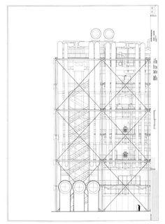 Drawings - Centre Georges Pompidou - Rpf