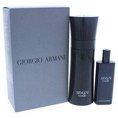 daf2018a8ca Giorgio Armani 2 Piece Code Travel Exclusive Gift Set for Men Giorgio  Armani Code