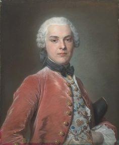 Henry Dawkins, Maurice Quentin de La Tour, 1750