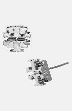 Shop a great selection of Tory Burch Logo Stud Earrings (Silver). Find new offer and Similar products for Tory Burch Logo Stud Earrings (Silver). Girls Accessories, Jewelry Accessories, Tory Burch, Diamond Are A Girls Best Friend, Shoe Collection, So Little Time, Fashion Jewelry, Fashion Shoes, Girl Fashion