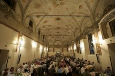 Conference Dinner at Cloisters of the Umanitaria, Milan - 20th European Biomass Conference and Exhibition #biomass #biofuels #bioenergy #milan