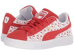 f6aac967c56b Puma Kids Suede Classic x Hello Kitty (Little Kid) at 6pm. Combine the