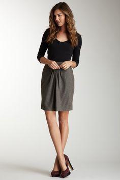 Great Plains Pleat skirt