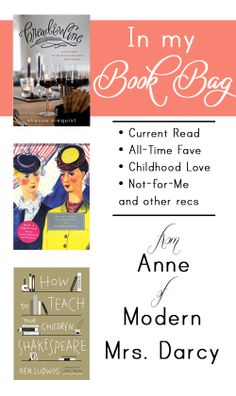 Great book recommendations from Modern Mrs. Darcy