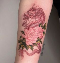 Do you want a dragon tattoo? Dragon tattoos are also one of the more popular tattoo designs. Red Ink Tattoos, Dainty Tattoos, Dope Tattoos, Pretty Tattoos, Mini Tattoos, Unique Tattoos, Beautiful Tattoos, Body Art Tattoos, Small Tattoos