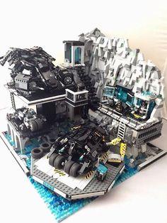 Batman Lego-Archiv - Gabe,s lego cerafts - - - Lego Dc Comics, Lego Marvel, Batman Lego Sets, Batman Batman, Batman Stuff, Batman Logo, Lego Batmobile, Lego Ritter, Construction Lego