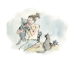 illustration on Pinterest   Quentin Blake, Roald Dahl and The Twits