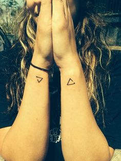 Delta is a symbol for change. the triangle with the gap means 'open to change'