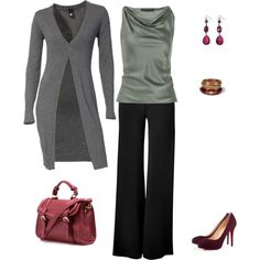 """""""Nice fall/winter work outfit"""" by cbgwatkins on Polyvore"""