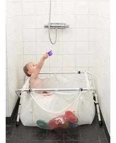 Es una idea, por si quieres disfrutar de un baño de vez en cuando y sólo tienes ducha.